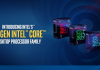 Intel Core 8 Génération : CoffeLake