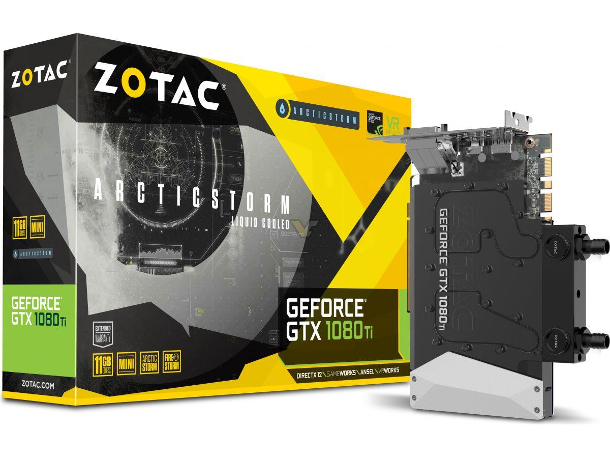 ZOTAC GTX1080 Ti ArcticStorm Mini