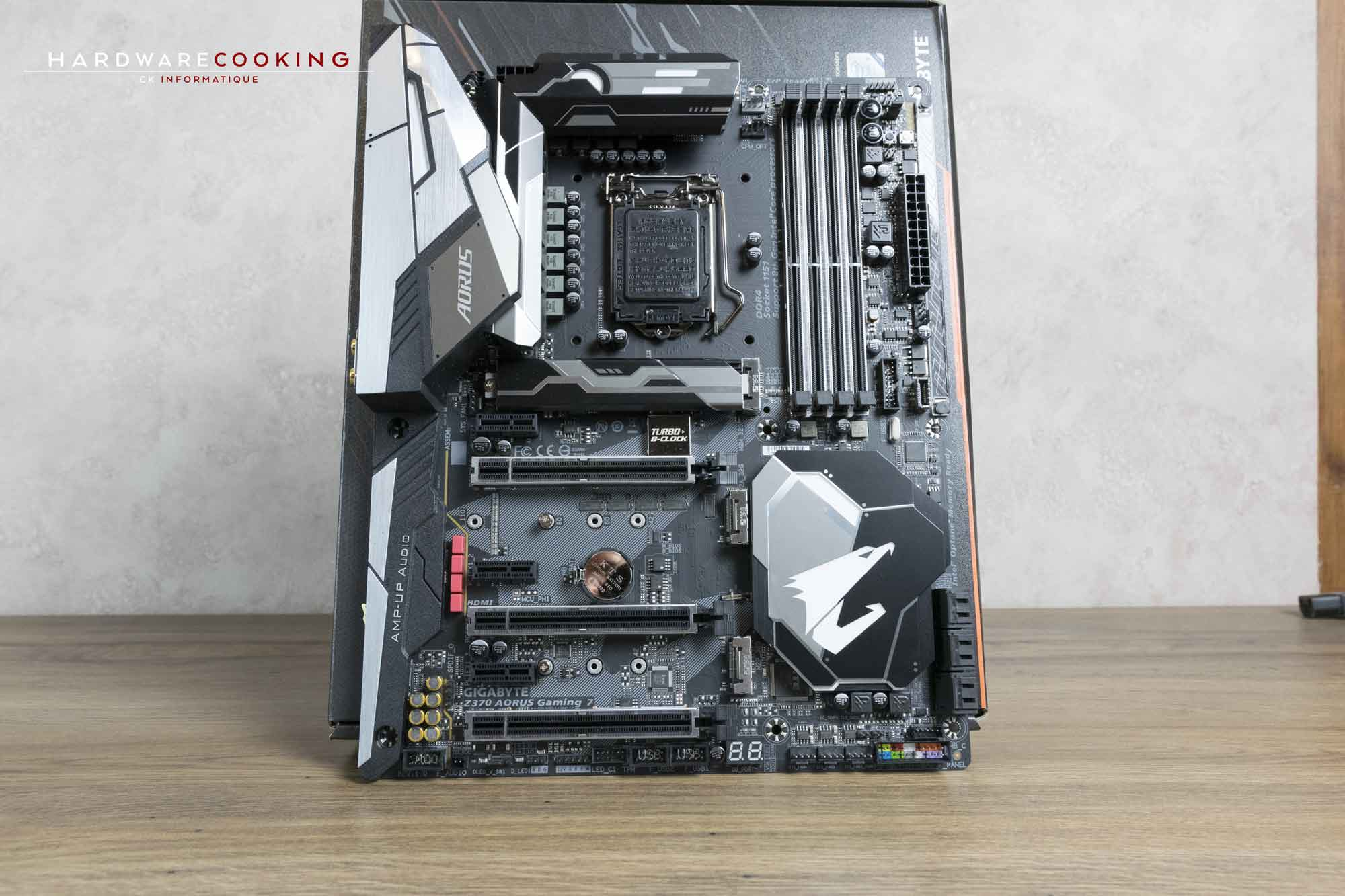 Test : AORUS Z370 AORUS GAMING 7 - Page 4 sur 7 - HardwareCooking