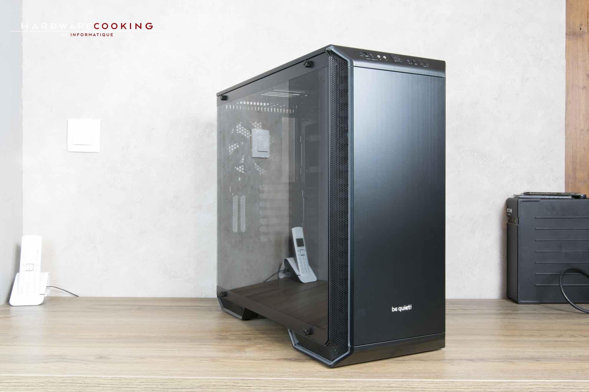 test bo tier be quiet dark base 700 hardwarecooking. Black Bedroom Furniture Sets. Home Design Ideas