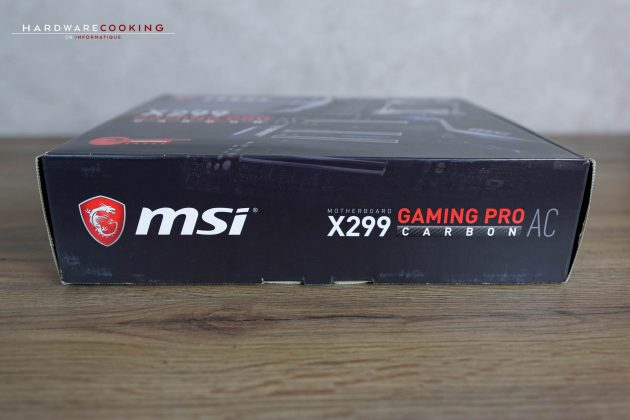 test msi x299 gaming pro carbon ac