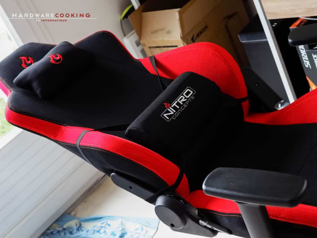 fauteuil gamer nitro concept s300 inferno red