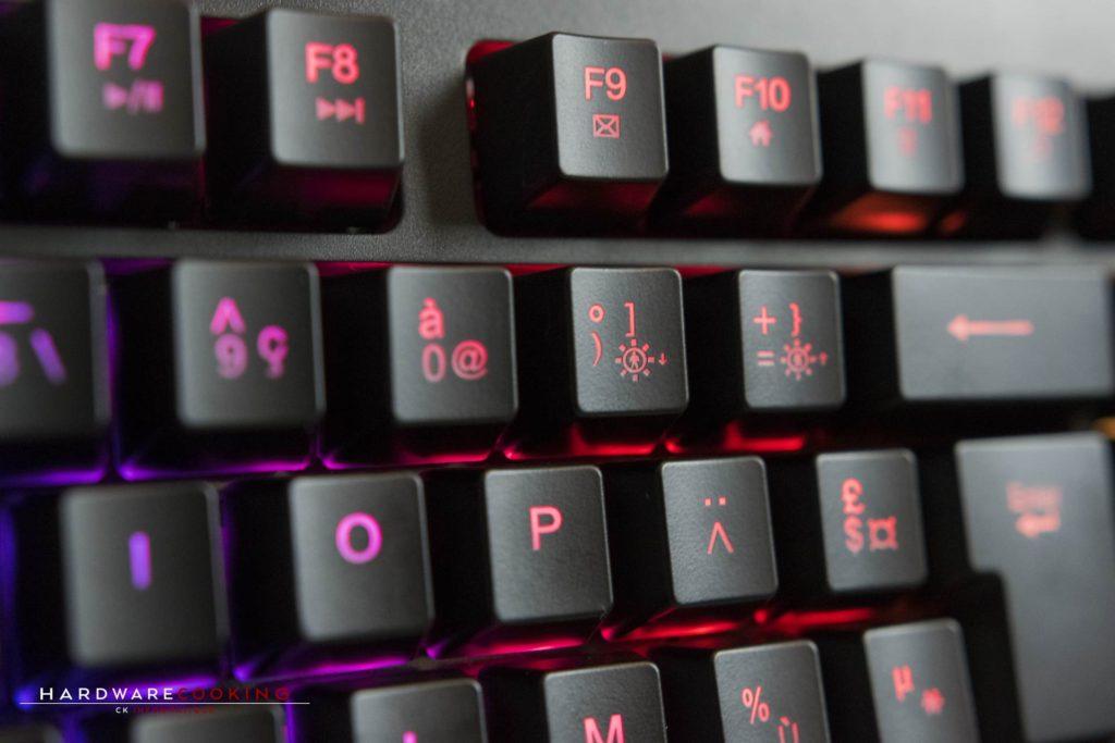 test clavier mécanique KLIM DOMINATION
