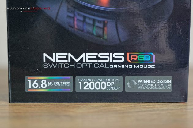 test souris gameur tt esports nemesis switch optical rgb par thermaltake