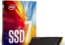 SSD Intel 7xx un débit maximum de 3200 Mo/s