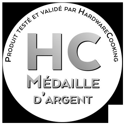 Médaille d'argent par HardwareCooking