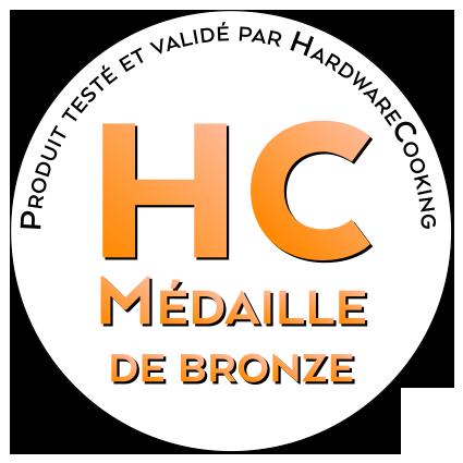 Médaille de bronze par HardwareCooking