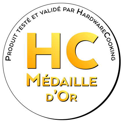 Médaille d'or par HardwareCooking