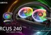 Raijintek Orcus 240 RGB un nouvel AIO