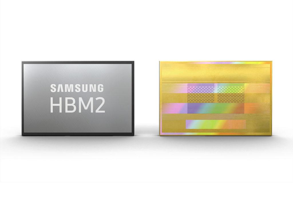 Samsung démarre une production en masse des puces HBM2 8Go