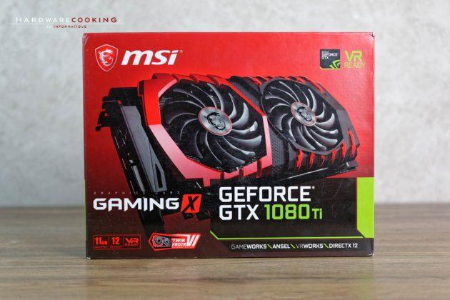 test carte graphique MSI GTX 1080 Ti GAMING X 11G