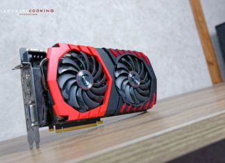 test carte graphique MSI GTX 1080 Ti GAMING X 11G