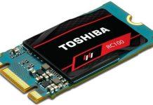 Toshiba présente son SSD RC100 au CES 2018