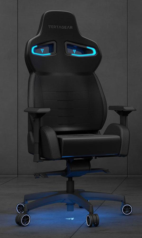 CES18 : Vertagear PL4500 un fauteuil RGB sans fils !