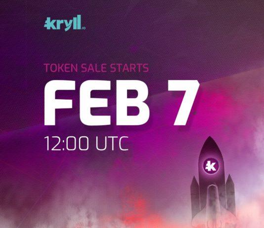 Lancement de l'ICO de Kryll.io le 7 février 2018.
