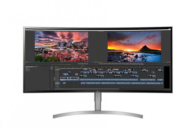 écran LG 38WK95C 3840x1600 pixels HDR 10