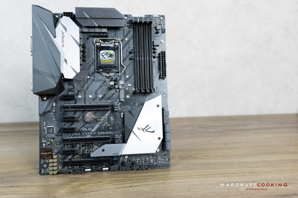 Test carte mère ASUS ROG STRIX Z370-F GAMING