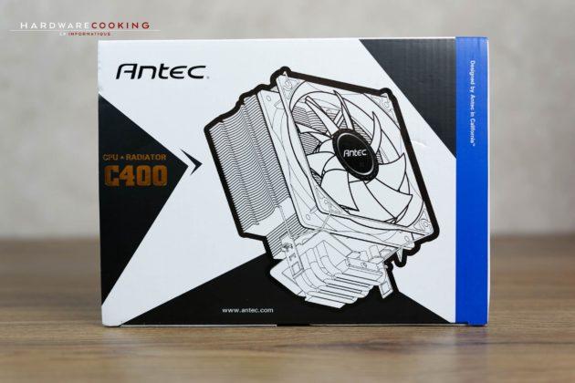 Test ventirad Antec C400