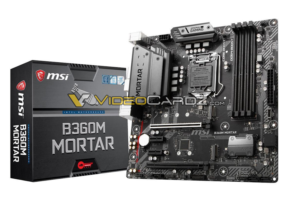 MSI B360M MORTAR