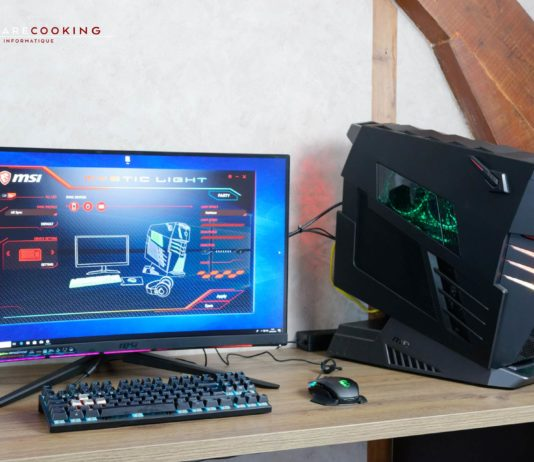 Test PC MSI Aegis Ti3 8-02SXEU