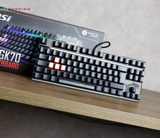 Test clavier MSI Vigor GK70