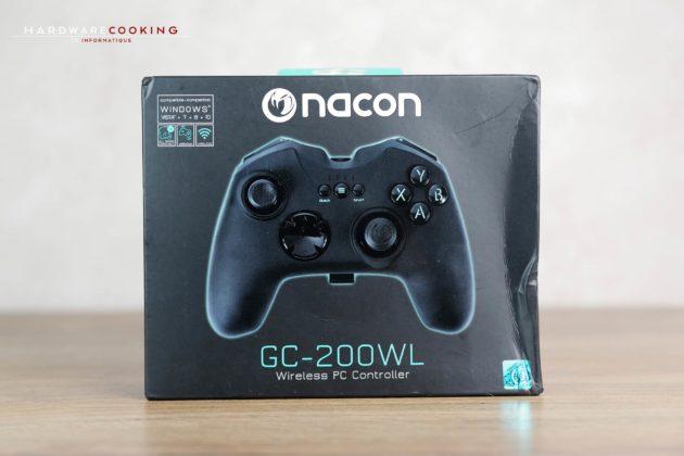 Test manette Nacon GC-200WL