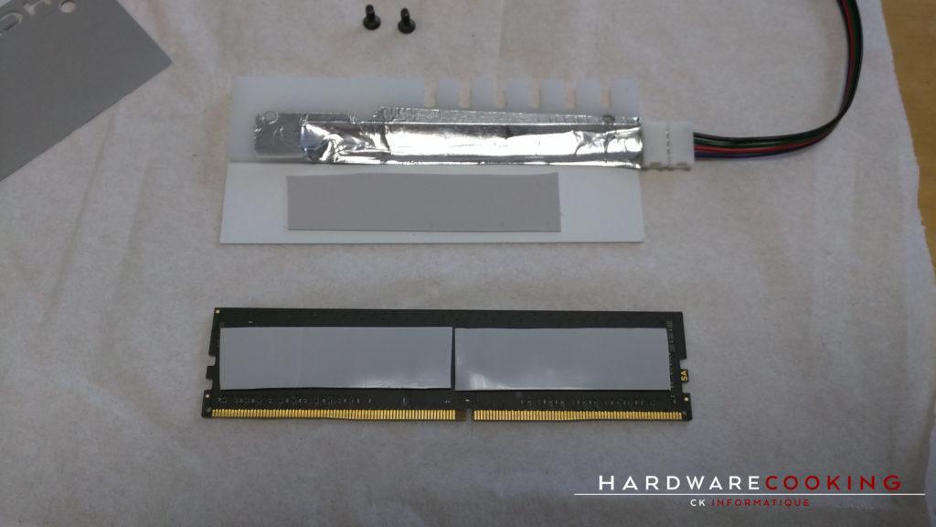 Tutoriel : Installer des dissipateurs mémoire Hybrid Cooling Modding
