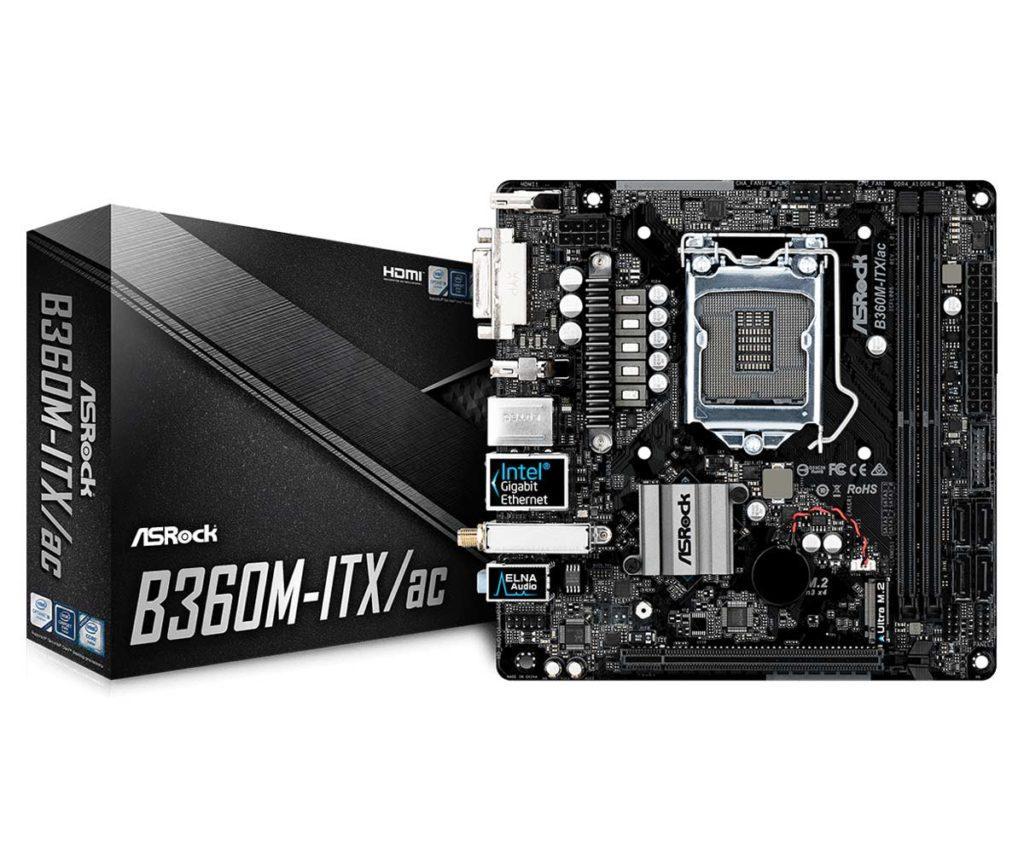 Carte mère ASRock B360M-ITX/ac