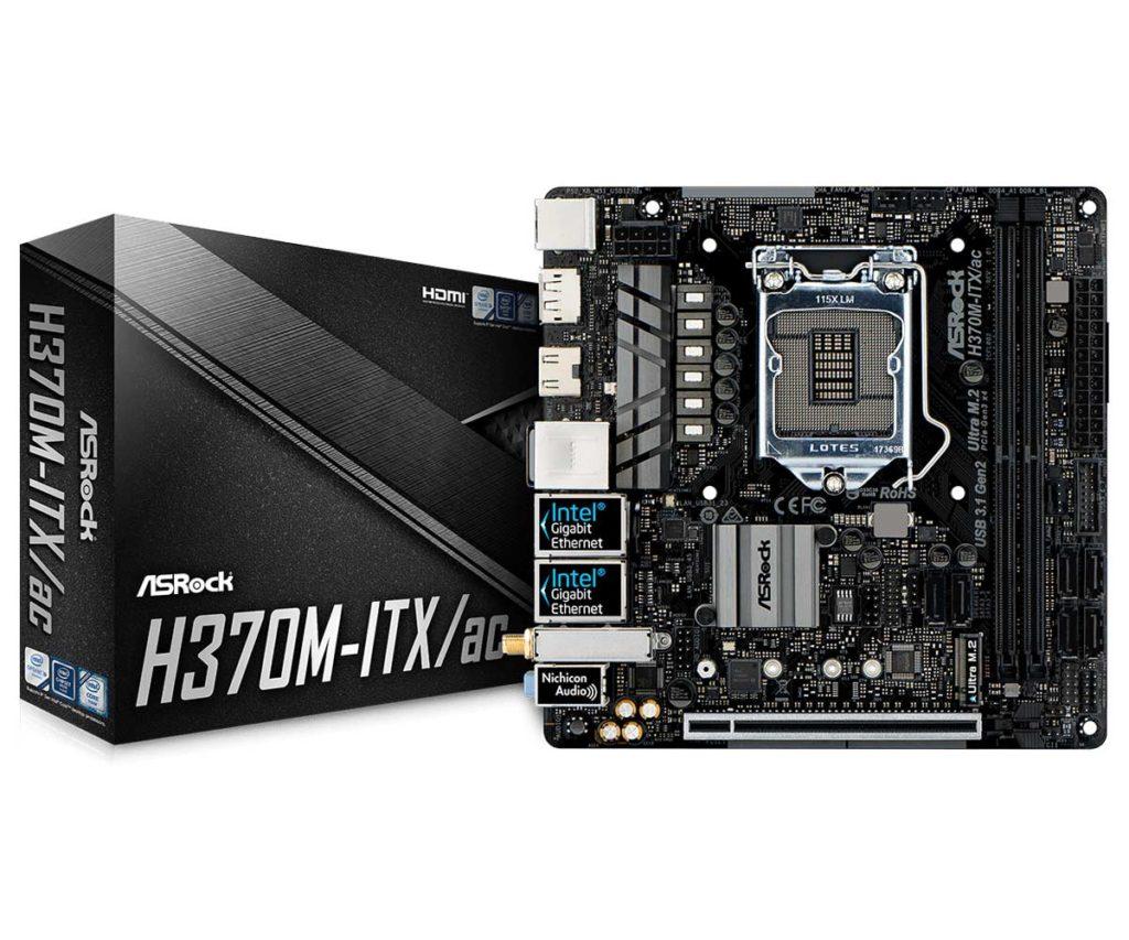 Carte mère ASRock H370M-ITX/ac