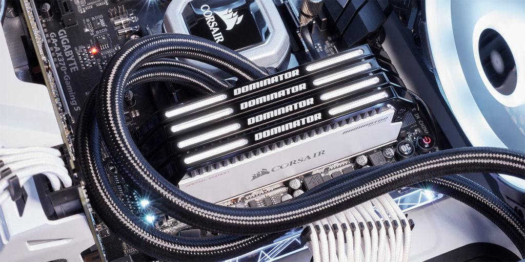 Mémoire Corsair CONTRAST DDR4 Dominator Platinum Special Edition