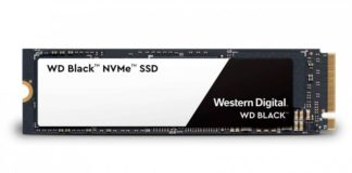 SSD WD Black NVMe SSD M.2 PCI Express 4x