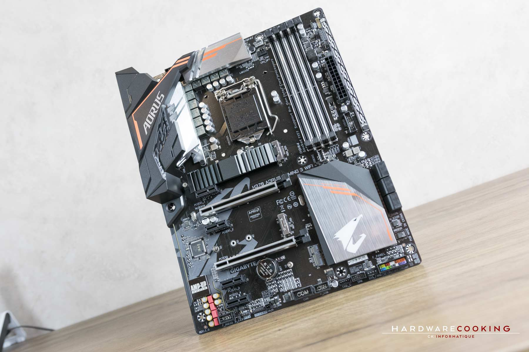 Test carte mère AORUS H370 AORUS GAMING 3 WIFI