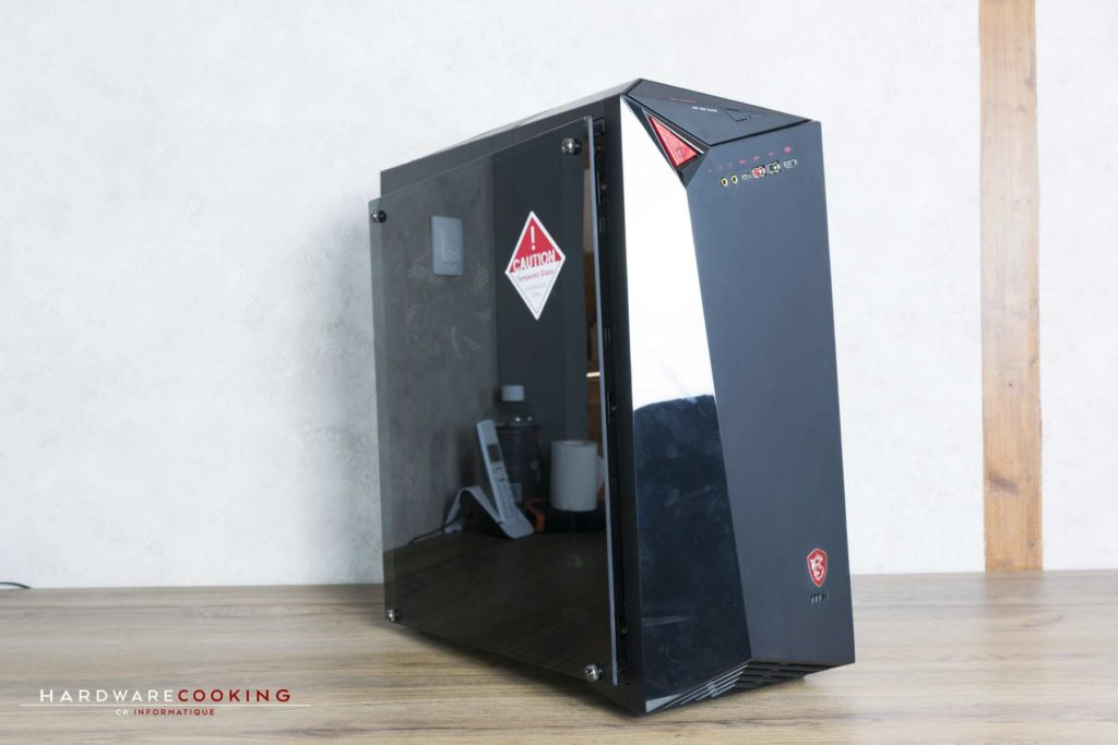 Test PC MSI Infinite A VR7RD-04STW Cart egraphique GTX 1070