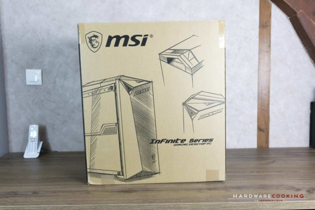 Test PC MSI Infinite A VR7RD-04STW