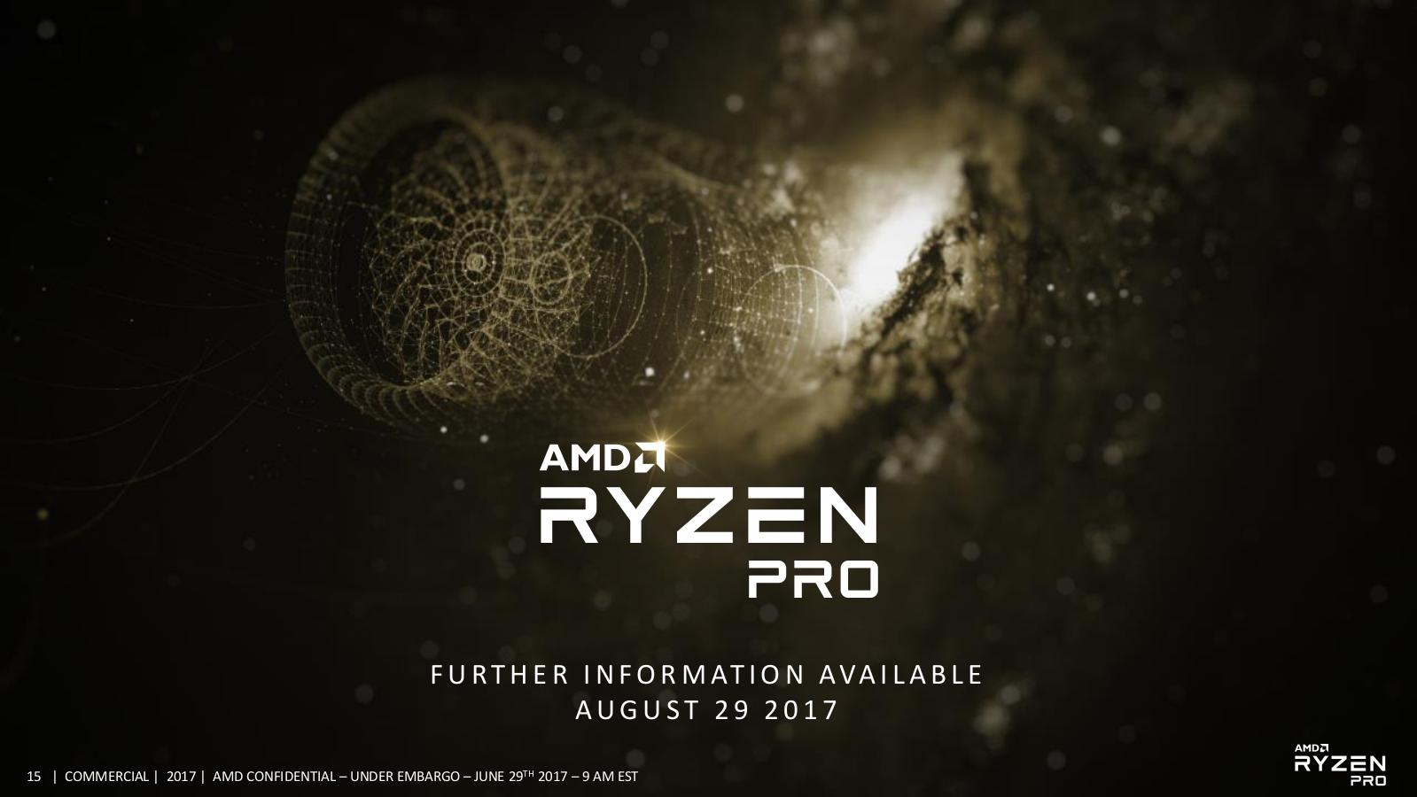 AMD Ryzen PRO CPU APU