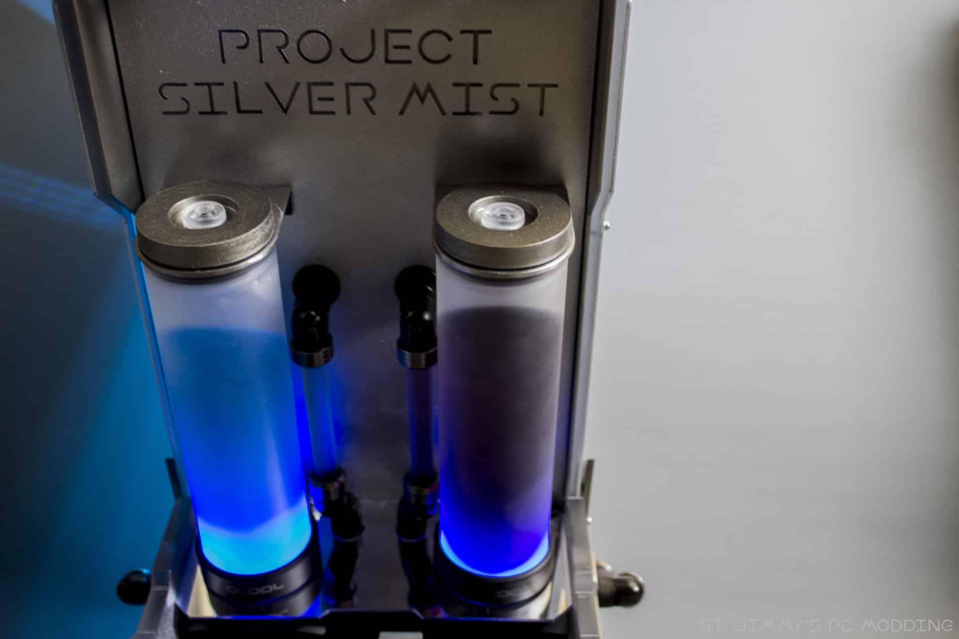 Rig du jour : Project Silver Mist par St.Jimmy's PC Modding
