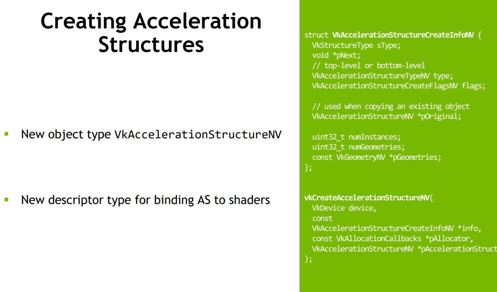 Ray Tracing et API Vulkan