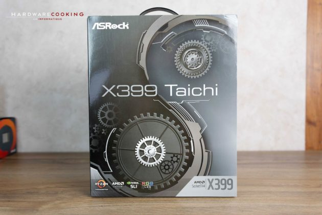 Test carte mère ASRock X399 Taichi bundle