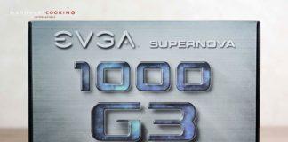 Test alimentation EVGA SuperNOVA 1000 G3 1000W