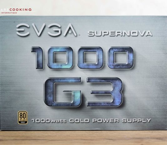 Test alimentation EVGA SuperNOVA 1000 G3 1000W