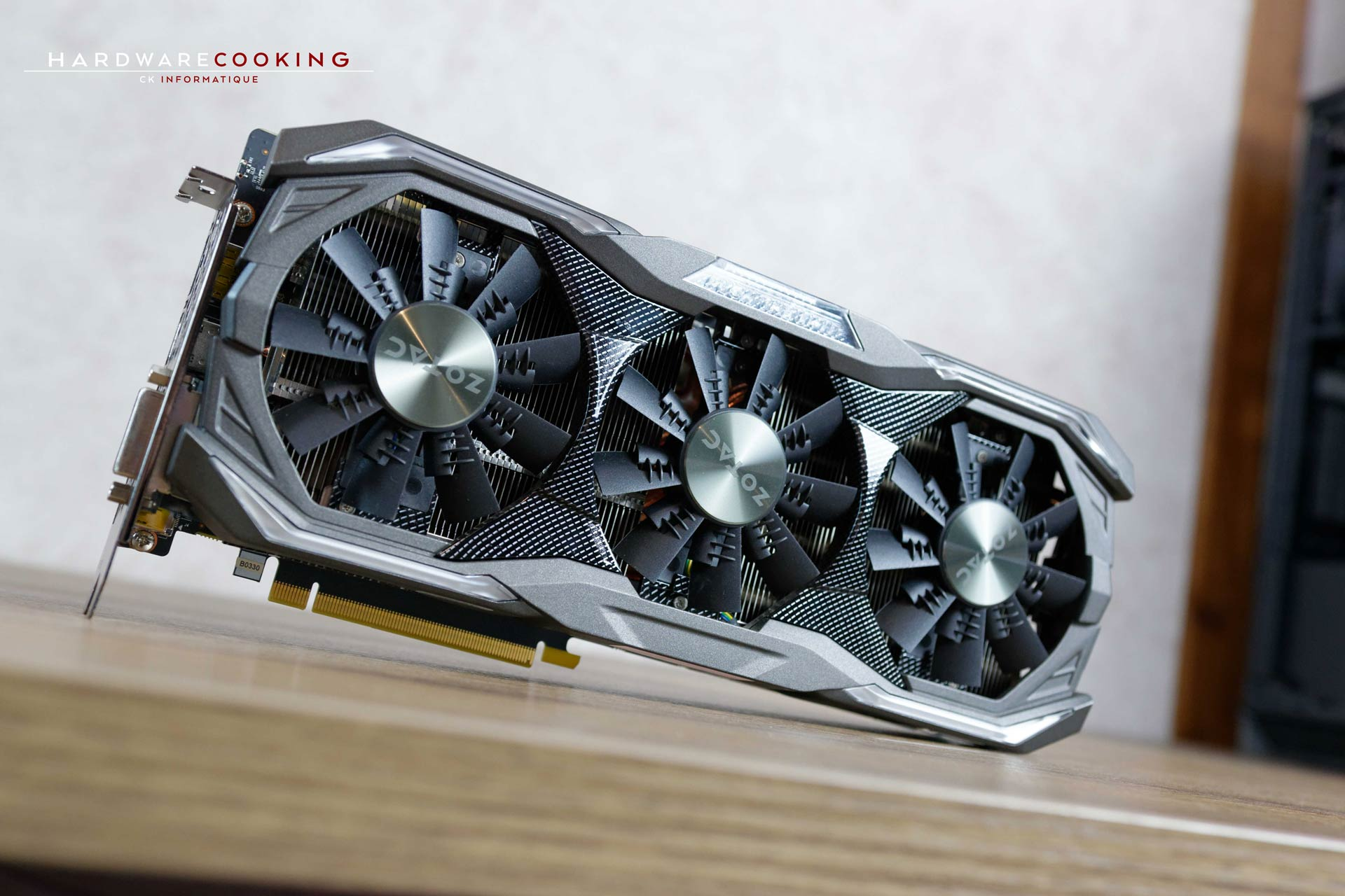 Test carte graphique ZOTAC GTX 1070 Ti AMP Extreme