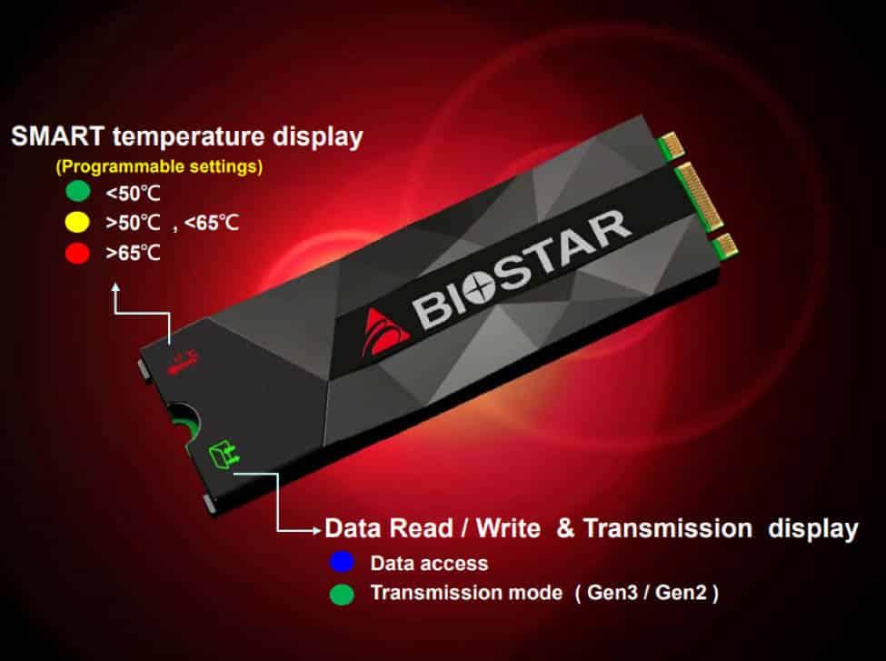 BIOSTAR M500 SSD M.2 NVMe 2280