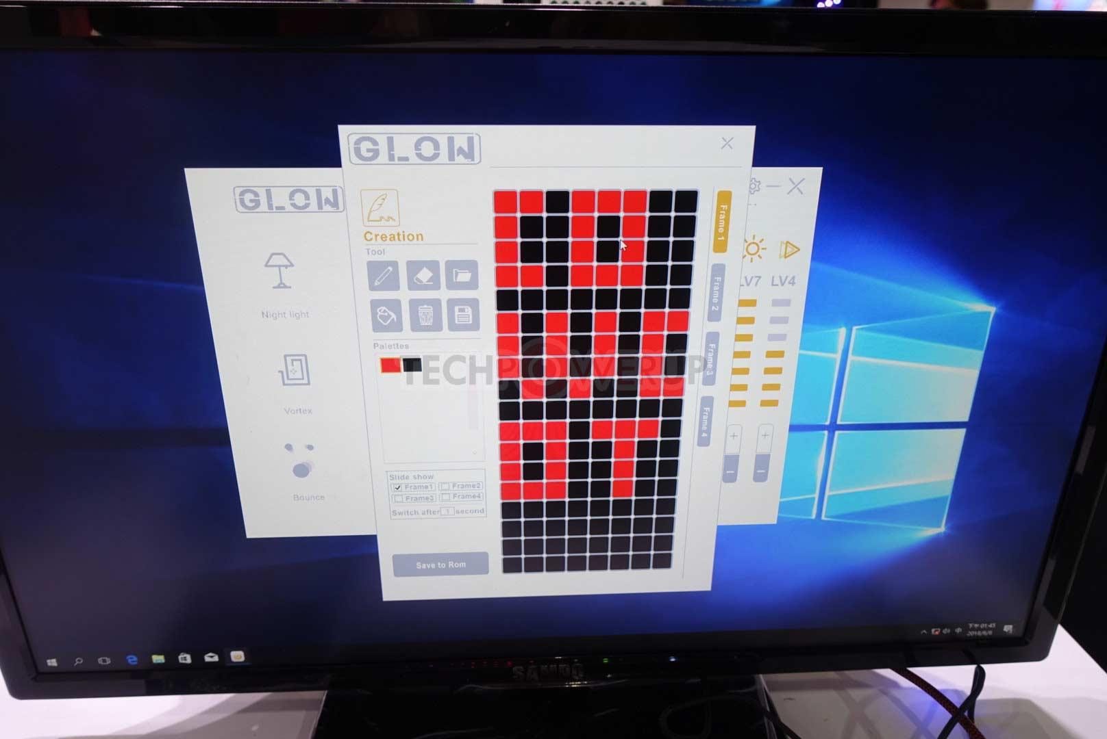 Boîtier In Win 307 avec écran 144 pixels en façade