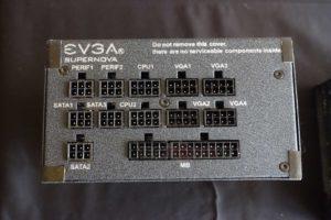 Alimentation EVGA SUperNova 850 G+