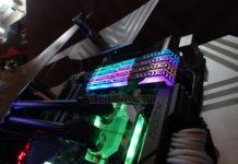 Mémoire DDR4 Team group : T-force Xcalibur RGB