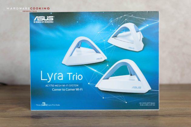 Test ASUS Lyra Trio un réseau WIFI maillé