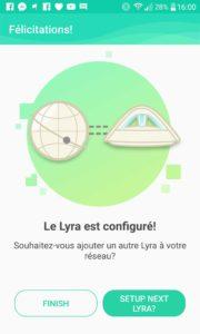 Test ASUS Lyra Trio application mobile