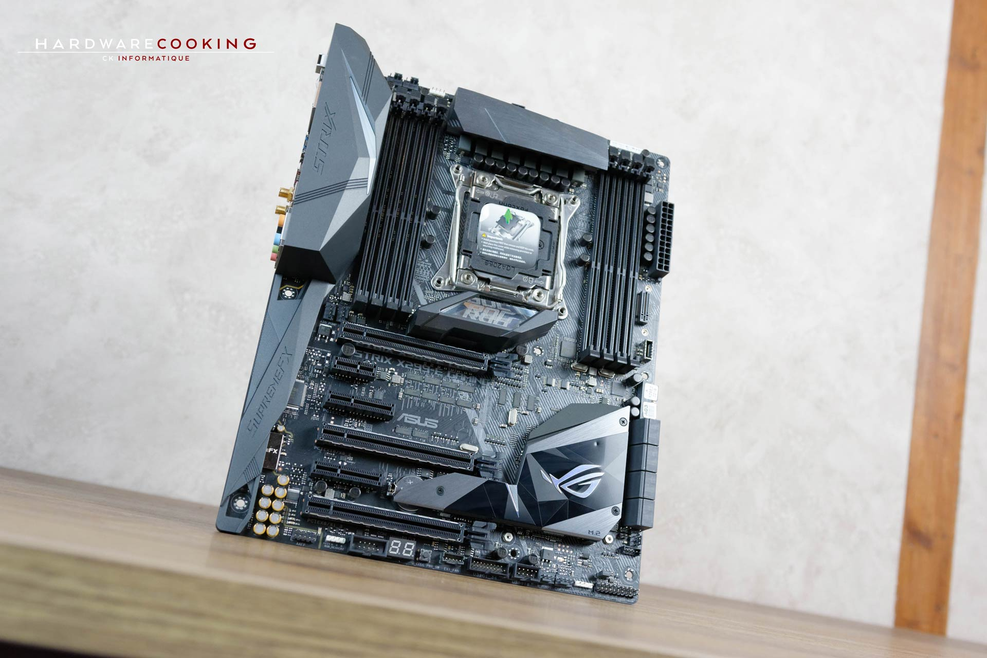 Test ASUS ROG STRIX X299-E GAMING