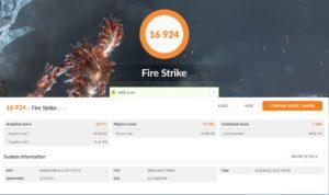 Test ASUS ROG STRIX X299-E GAMING FireStrike