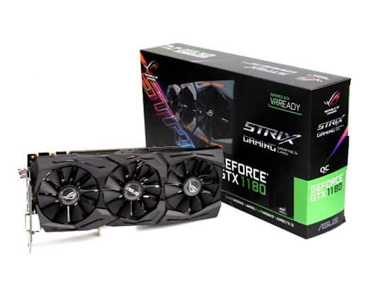 Carte graphique ASUS GTX 1180 ROG STRIX